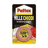 Pattex Millechiodi Tape, nastro biadesivo extra forte per applicazioni permanenti, nastro ...