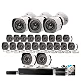 Zmodo 32 Channel 1080P HDMI NVR Security System 24 x720P IP Outdoor/Indoor...