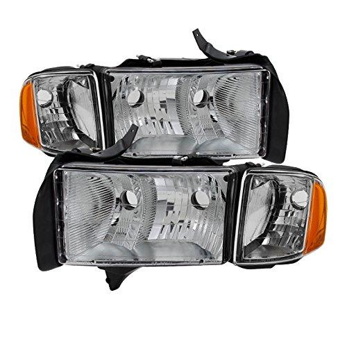 for Dodge Ram Sport Model Only OEM headlights Chrome