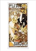 ポスター ミュシャ『浮気女』A3サイズ【返金保証有 日本製 上質】 [インテリア 壁紙用] 絵画 アート 壁紙ポスター