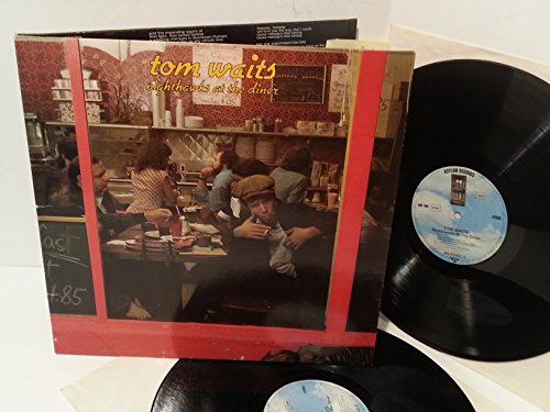TOM WAITS nighthawks at the diner, gatefold, double album, AS 63002 [Vinyl] U...