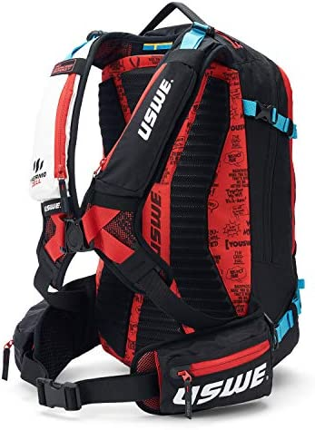USWE Pow 25L Ski and Snowboard Backpack with Back Protector for Men and Women Insulated Snow product image