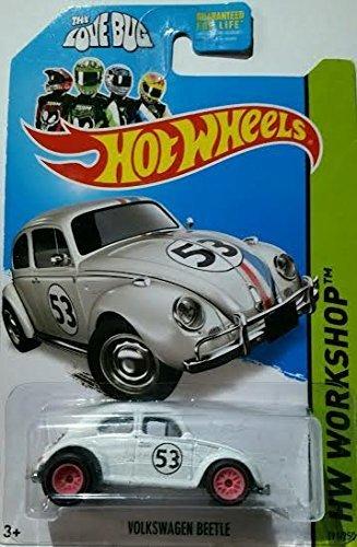 Hot Wheels Custom Real Riders Herbie The Love Bug - Volkswagen Beetle