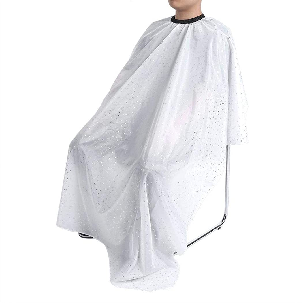 3パターン 防水 耐久 サロン 美容院 快適 ヘアカット スタイリストガウンバーバーケープ(03)