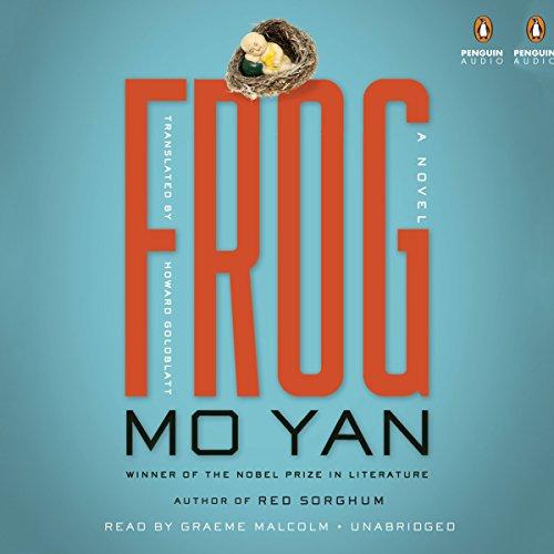 Frog audiobook cover art