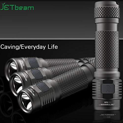 JA 17 Lampe torche LED rechargeable étanche JETbeam EC-R26 Cree XP-L 1080lumens