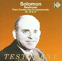 Piano Sonatas 23 28 30 & 31