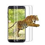 [2 Pièces] Verre Trempé pour Samsung Galaxy S7 Edge, [3D Couverture Complète] Film...