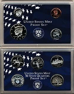 1999 S U.S. Mint 9 coin Clad Proof Set In OGP Proof