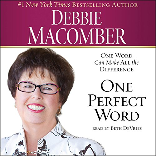 One Perfect Word audiobook cover art