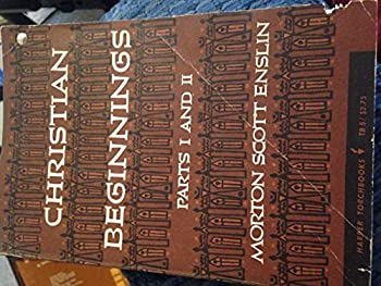 Paperback Christian Beginnings Parts 1 and 2 Book