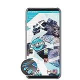 atFolix Schutzfolie kompatibel mit LG V30S ThinQ Folie, ultraklare & Flexible FX Bildschirmschutzfolie (3X)