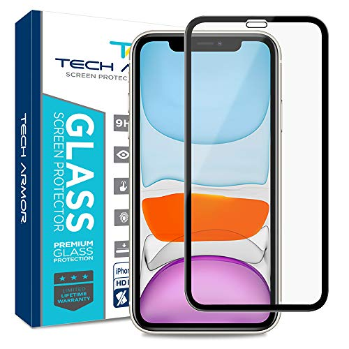 Tech Armor Edge to Edge Glass Screen Protector for New 2019 Apple...