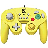 Official Nintendo Licensed Smash Bros Gamecube Style Controller for Nintendo Switch Pikachu Version - Nintendo Switch [Importación inglesa]