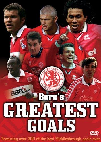 Boro's Greatest Goals - Middlesbrough FC [DVD]