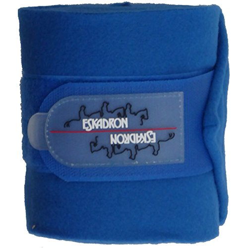 Eskadron Fleecebandagen in ROYAL BLUE, 4er Set, Größe:Warmblut