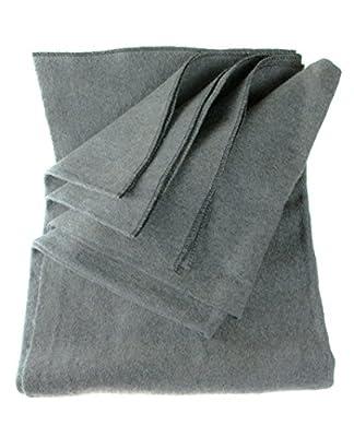 """SE Grey 64"""" x 84"""" 4-lb. Warm Blanket with 80% Wool - BI64847GR"""