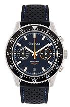 Gigandet Speed Timer Herren Armbanduhr Chronograph Analog Quarz Blau G7-002