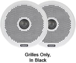 Fusion 一对黑色格栅 010-01644-00 一对黑色格栅,10.16 厘米,MS-FR4021