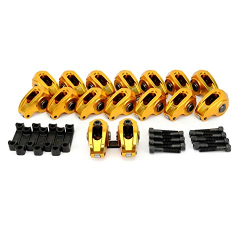 COMP Cams 19024-16 Ultra-Gold ARC Rocker Set w/ 1.72 Ratio for Pedestal Mount GM LS1, LS2, LS6