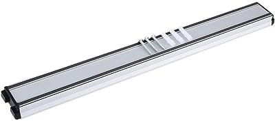 ウォールマウント磁気ナイフストレージホルダー強力な吸引マグネットストリップオーガナイザー(シルバー)(45 * 4.3 * 2CM)