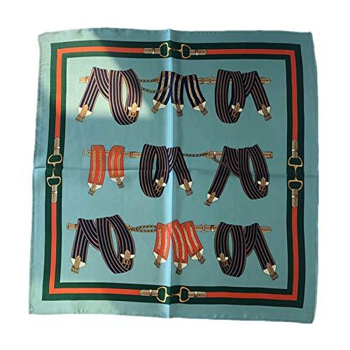 DREAMING-Vier Jahreszeiten Universal Schal 100% Maulbeerseide Seide Schal Kleinen Quadratischen Schal Wilde Dekoration Professionelle Lätzchen Schal