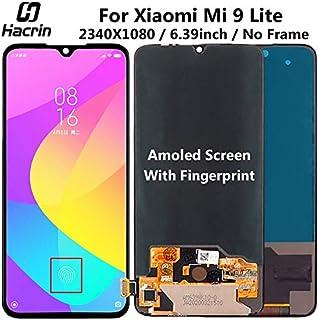 شاشات LCD للهاتف المحمول - عرض لـ Xiaomi mi 9 Lite LCD Display Touch Digitizer قطعة بديلة لمجموعة شاشة اللمس لـ Xiaomi mi ...