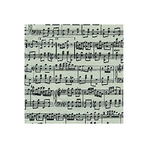 Caspari Entertaining - Carta Regalo Musica
