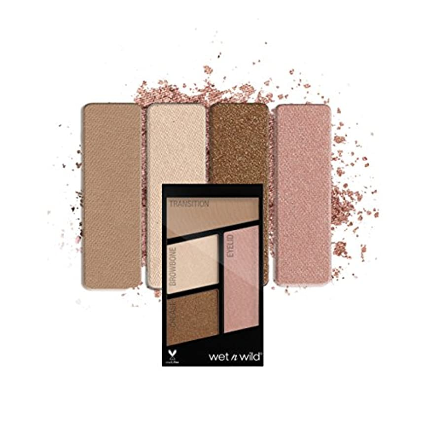 行く不名誉酸(3 Pack) WET N WILD Color Icon Eyeshadow Quad - Walking On Eggshells (並行輸入品)