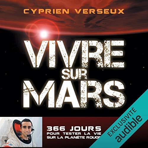 Vivre sur mars audiobook cover art