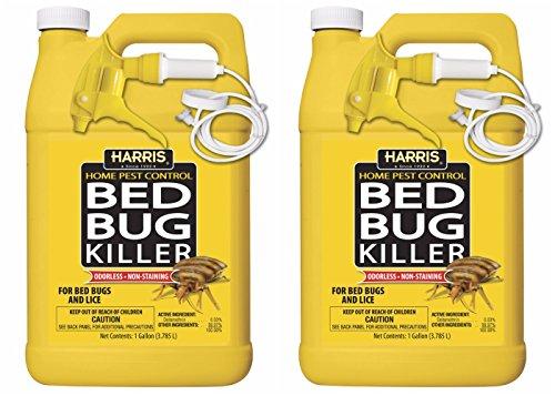 HARRIS Bed Bug Killer, Gallon Spray (2-Pack)