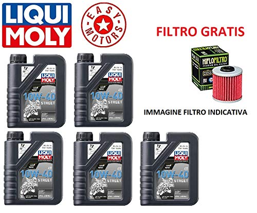 Genérico Onderhoudsset voor motorolie merk LIQUI Moly + oliefilter Yamaha FJR (RP081/084/111) (5JW) 1300 01/05