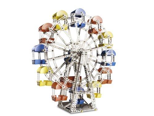 EITECH 00017 Metallbaukasten - Riesenrad mit Getriebemotor Set, 1200-teilig