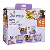 Dreambaby Home Safety Essentials 46 Pieces Kit, White