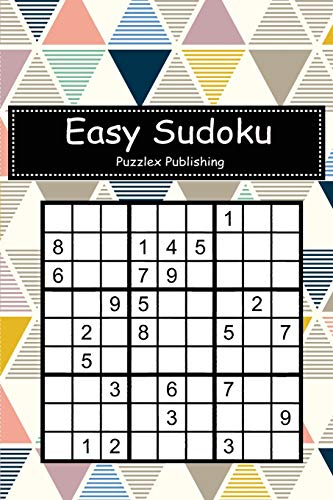 Easy Sudoku: Sudoku Puzzle Game For Beginers With Bauhaus Style Cover
