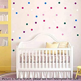 Polka Dot Wall Stickers 3cm, Removable Vinyl Wall Decals, Kid's Room Decor, Girls Bedroom Decor, Nursery Room Vinyl Wall Stickers