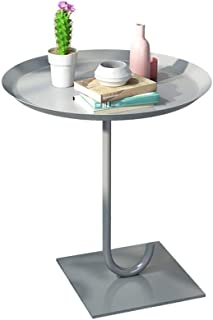 High Quality Coffee Table Nordic Small Wrought Iron Coffee Table, Sofa Table Small Round End Tables, Outdoor or Indoor Rou...