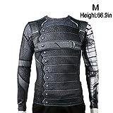 Rulercosplay Winter Soldier Shirt Long Sleeves...