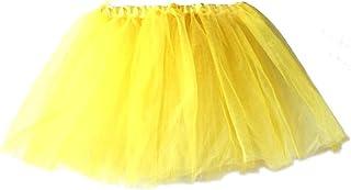 Amazon.es: falda tutu - Amarillo