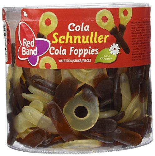 Red Band Cola Schnuller 1,2 kg Dose | Fruchtgummi