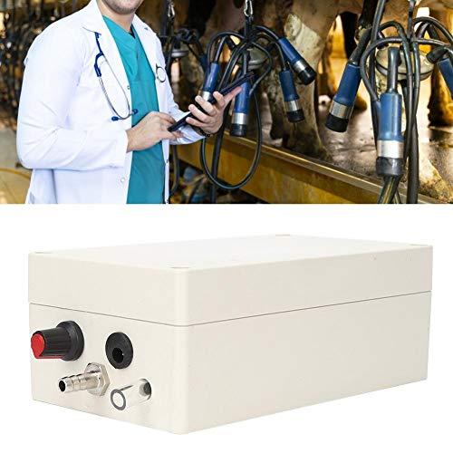 wosume 【𝐅𝐫𝐮𝐡𝐥𝐢𝐧𝐠 𝐕𝐞𝐫𝐤𝐚𝐮𝐟 𝐆𝐞𝐬𝐜𝐡𝐞𝐧𝐤】 Melkvakuumpumpe Pneumatischer Pulsator, 12V Elektrische Melkmaschine Zubehör Vakuumpumpe Melkvorrichtungssatz für Eselschafkuhpferd