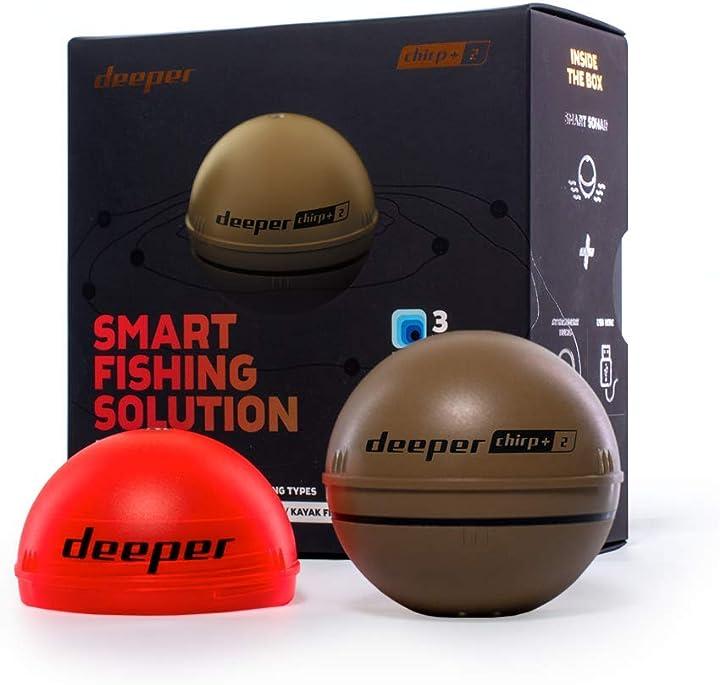 Ecoscandaglio da lancio con gps smart sonar deeper chirp plus da lancio wifi portatile ITGAM0997