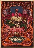 H/S Puerta Jim Morrison Rock Band Música Guitarra Vintage L