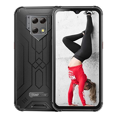 Blackview BV9800 - Best Rugged Phone for 2020 (48 MP Triple Camera, 6GB + 128 GB, IP69K & MIL-STD-810G, 6580mAh Big Battery.)