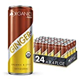 Organics by Red Bull Ginger Ale 24 Pack of 8.4 Fl Oz, Organic Soda Drink