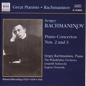 Rachmaninov: Piano Concertos Nos. 2 and 3 (Rachmaninov) (1929, 1940)