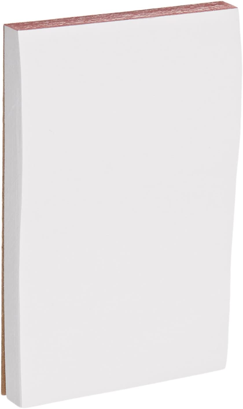 School Smart Scratch Pad 3 x Quantity limited 5 White Pack Sheets 100 Outlet SALE Inches