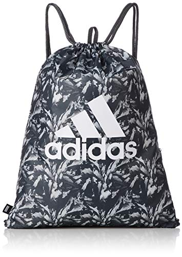 adidas GYMSACK SP G, Unisex Adults' Backpack, Multicolour (Grisei/Blapur/Blanco), 24x15x45 cm (W x H L)