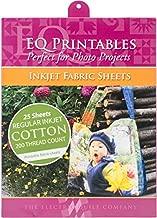 EQ Printables: 25 Inkjet Fabric Sheets
