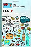 Fiji Islands Travel Diary: Kids Guided Journey Log Book 6x9 - Record Tracker Book For Writing, Sketching, Gratitude Prompt - Vacation Activities ... Journal - Girls Boys Traveling Notebook